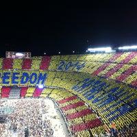 Foto tomada en Camp Nou por David G. el 6/29/2013