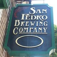 Снимок сделан в San Pedro Brewing Company пользователем Paul N. 7/27/2013