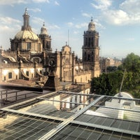 Terraza Mundo Joven Zocalo Downtown Mexico Distrito Federal