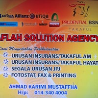 1/20/2013에 Nor Zuriati A.님이 Aflah Solution Agency에서 찍은 사진