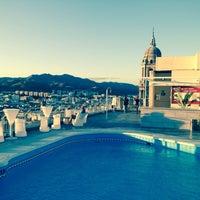 Foto diambil di Terraza Hotel Málaga Palacio oleh Anastasia A. pada 10/29/2013