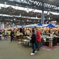 Photo taken at Old Spitalfields Market by Philip H. on 12/20/2012