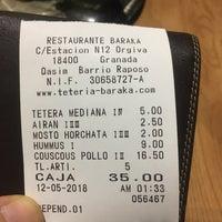 Foto tomada en Baraka Restaurant por GigaBass el 5/20/2018