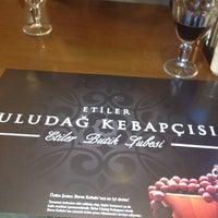 Das Foto wurde bei Etiler Uludağ Kebapçısı von U.Burak U. am 11/30/2012 aufgenommen