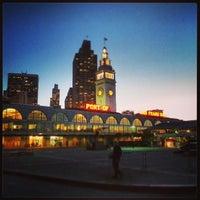6/9/2013 tarihinde Alex S.ziyaretçi tarafından Ferry Building'de çekilen fotoğraf