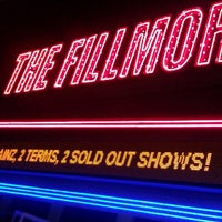 Foto scattata a The Fillmore da Keith H. il 1/20/2013