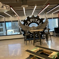 Photo taken at Capital Factory by Kenichiro I. on 3/14/2019