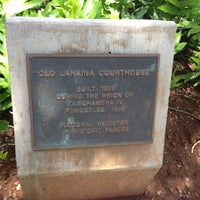 Photo taken at Old Lahaina Courthouse by Chelle . on 5/8/2013