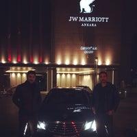2/21/2015 tarihinde Kenan B.ziyaretçi tarafından JW Marriott Hotel Ankara'de çekilen fotoğraf
