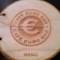 8/17/2013 tarihinde A. Enrique C.ziyaretçi tarafından Café Euro Bar'de çekilen fotoğraf