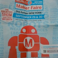 Photo prise au World Maker Faire par Tarron D G. le9/29/2012