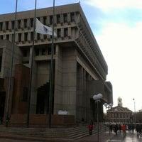 Снимок сделан в City Hall Plaza пользователем joseph r. 10/31/2012