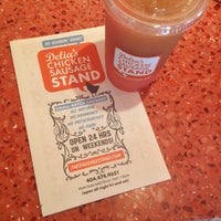 Foto scattata a Delia's Chicken Sausage Stand da Lauren B. il 7/16/2014