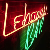 รูปภาพถ่ายที่ Lebowski Bar โดย Daniel S. เมื่อ 6/30/2013