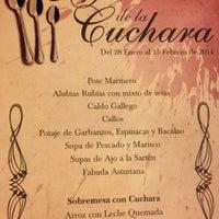 Foto scattata a A Taberna Restaurante da Santiño R. il 2/2/2014