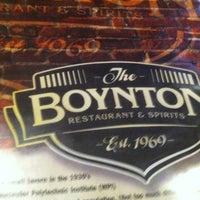 10/25/2012에 Camilla R.님이 The Boynton Restaurant & Spirits에서 찍은 사진