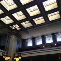 รูปภาพถ่ายที่ Frank Lloyd Wright's Unity Temple โดย Lilibeth M. เมื่อ 7/7/2013