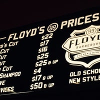 Photo taken at Floyd's 99 Barbershop by mike m. on 9/4/2015