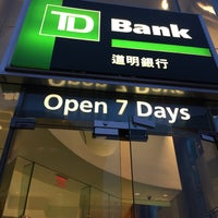TD Bank - Chinatown - 155 Canal St