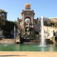 4/18/2013 tarihinde oscar g.ziyaretçi tarafından Parc de la Ciutadella'de çekilen fotoğraf