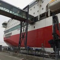 Das Foto wurde bei Risavika Ferry Terminal von Christian L. am 6/13/2018 aufgenommen