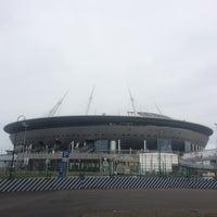 Снимок сделан в Стадион «Санкт-Петербург» пользователем Ed. U. 6/7/2018