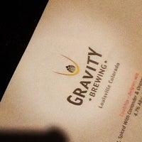 Foto tomada en Gravity Brewing por Colorado Card el 10/13/2012