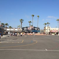 Photo Taken At Venice Beach Basketball Courts By Sean N On 4 29