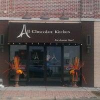 11/9/2012 tarihinde Cheryl T.ziyaretçi tarafından All Chocolate Kitchen'de çekilen fotoğraf