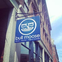 Bull Moose Record Shop In Downtown Portland