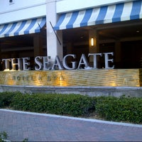 Photo taken at The Seagate Hotel & Spa by Carolyn K. on 6/18/2013