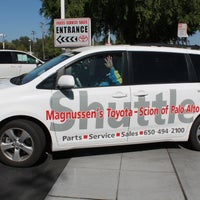 Photo Taken At Magnussen 39 S Toyota Of Palo Alto By Sebrina