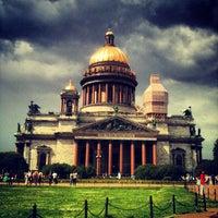 Снимок сделан в Исаакиевская площадь пользователем Yaroslava S. 7/7/2013