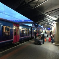 Manchester Airport Railway Station (MIA) - Train Station in