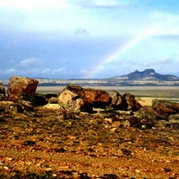 Foto tomada en Monumento Natural Bosques Petrificados por Agustina T. el 1/26/2013