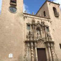 Basilica Santa Maria Alicante Casco Antiguo Santa Cruz Plaza