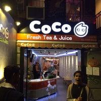 Foto tirada no(a) CoCo Fresh Tea & Juice por Sarah C. em 11/2/2013