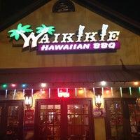 Das Foto wurde bei Waikikie Hawaiian BBQ von Paul J. am 12/16/2012 aufgenommen