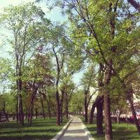 Снимок сделан в Тверской бульвар пользователем Zarina A. 5/13/2013