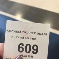 6/8/2018 tarihinde Sevil S.ziyaretçi tarafından Kocaeli Ticaret Odası'de çekilen fotoğraf