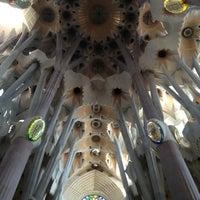 Foto tirada no(a) Sagrada Família por Evgen S. em 7/21/2013