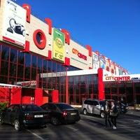 Снимок сделан в ТРЦ «Сити Центр» пользователем Evgen S. 10/18/2012