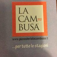 Снимок сделан в Pizzosteria La Cambusa пользователем Dani R. 1/16/2015