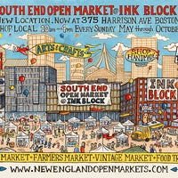 Foto tirada no(a) South End Open Market @ Ink Block por South End Open Market @ Ink Block em 3/24/2016