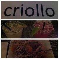 Das Foto wurde bei Criollo Latin Kitchen von Robert D. am 10/6/2012 aufgenommen