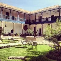 Photo prise au Belmond Palacio Nazarenas par Alonso S. le5/29/2013