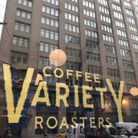 Das Foto wurde bei Variety Coffee Roasters von Barnabee am 10/22/2018 aufgenommen