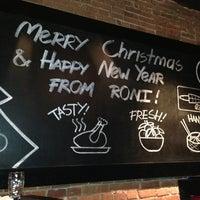 Das Foto wurde bei Roni Asian Grill & Bar von Alexandra am 12/21/2012 aufgenommen