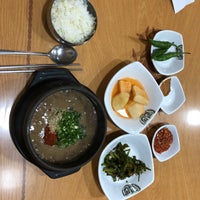 Foto diambil di Ujin Haejangguk oleh pyoungho k. pada 6/26/2018