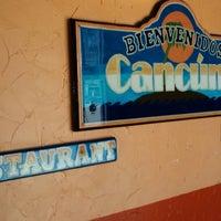 Foto tomada en Cancun's Restaurant por Cynthia B. el 4/17/2014